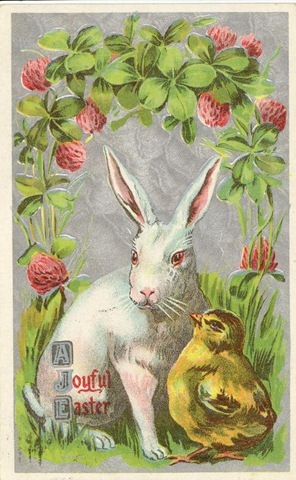 Free-vintage-easter-card-with-bunny