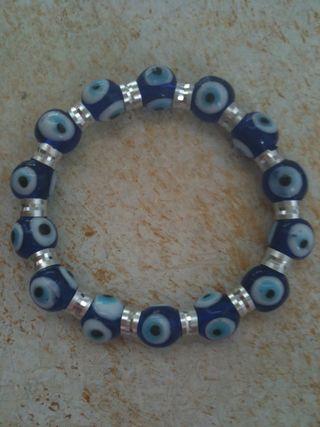 Evil Eye Charm Bracelet-Blue